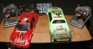 Traxxas E Maxx RC Truck Minor Repair Needs Body Mounts
