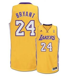 Kobe Bryant Jersey Los Angeles Lakers Gold Youth Revolution 30