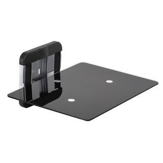 AVF Wall Mount Glass Shelf for TV AV Component Bluray Player Cable Box