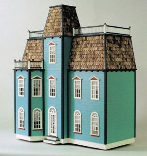 Dollhouse Kit 1 12 Full Scale Victorian Townhouse Real Good Toys USA