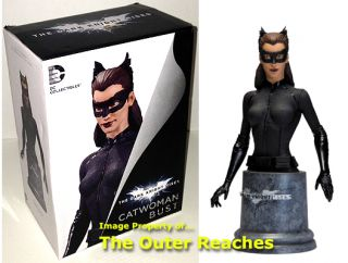DC Batman: The Dark Knight Rises Anne Hathaway as CATWOMAN BUST Statue