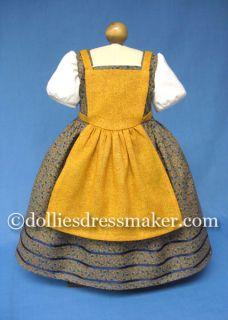 American Girl Doll Collectors FELICITY ELIZABETH by Dollies Dressmaker