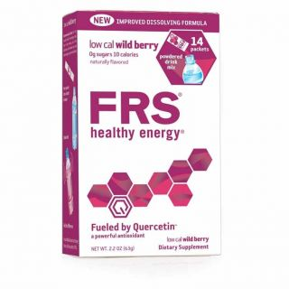 FRS Healthy Energy Sports Drink Powder Antioxidant Supplement 14 packs
