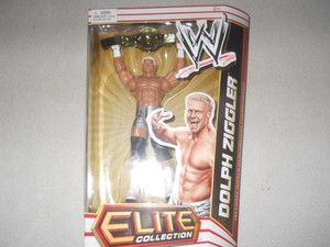 Dolph Ziggler WWE Mattel Elite Series 13 Action Figure Wrestling Belt