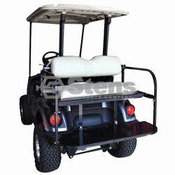 Yamaha Drive Golf Cart Flip Flop Rear Seat Kit w Hardware