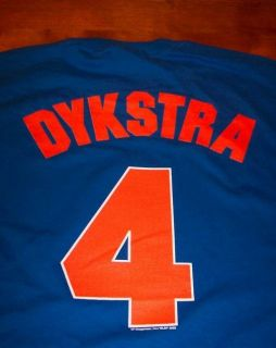 Vintage New York Mets Dykstra 4 MLB T Shirt 2XL New