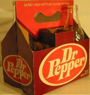 Dr Pepper 6 Pak Soda Carton 10oz Bottles
