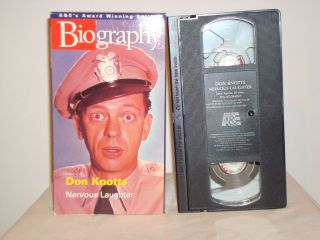 home page  Listed as Biography Don Knotts (VHS, 2000) in category