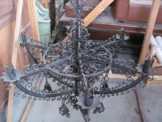 The Best Hand Wrought Iron Antique Chandelier 10IT013