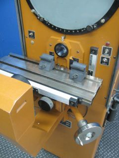 nice micro vu 14 optical comparator # m14 dro