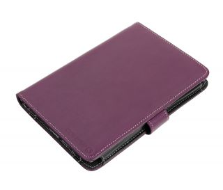 Sony Reader PRS T1 eBook Reader Book Style Cover Case Purple
