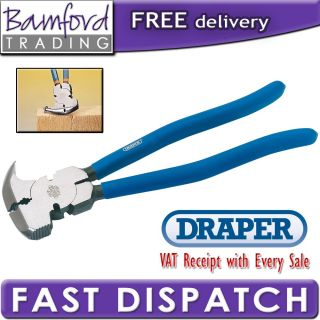 Bamford Trading   Draper Expert Quality Fencing Pliers with Hammer