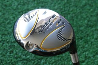 Demo King Cobra Speed Pro 15° Fairway Wood Fujikura Speeder Pro s