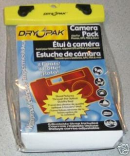 New Dry Pak Waterproof Floating Digital Camera Case A