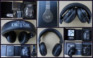 Monster Beats by Dr Dre Detox Limited Edition Headphones New SEALEDDr Dre Detox Headphones