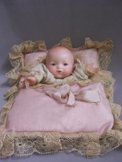 Dream Baby Hand Puppet on Pillow 1920 30S