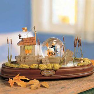 Disney Donald Duck 70th Anniversary Riverboat Snowglobe