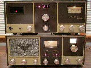 BROWNING GOLDEN EAGLE MARK 4 IV CLEAN WORKING RADIO CB BASE STATION AM