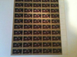 Sheet 50 MNH 1335 American Biglin Brothers Thomas Eakins 5 Cent