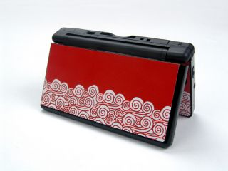 Skin Sticker Art Decal Protector Nintendo DSL NDSL DS Lite Case