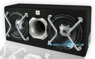 JBL GT Series Dual 12 1100W Max Car Audio Subwoofer Loaded Vented