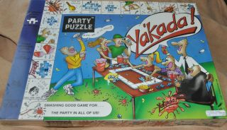 YAKADA Adult Drinking Game Jigsaw Board Game 2 8 players Party Puzzle