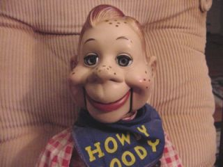 Howdy Doody TV Show Ventriloquist Doll 1950s by Ideal