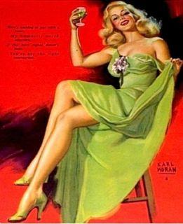 Marilyn Monroe Earl Moran Ad Calendar Pinup Litho 1948 Vtg Golden