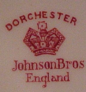 JOHNSON BROTHERS DORCHESTER DINNER PLATE /S NICE