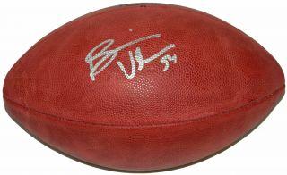 Bears Brian Urlacher Signed Wilson Duke Official NFL Football Schwartz