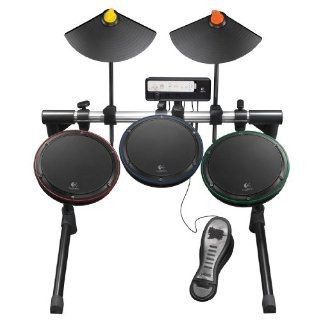 Logitech® Wii GUITAR HERO WIRELESS DRUM SET CONTROLLER   NEW
