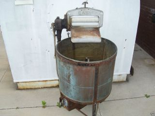 EASY BRAND   Antique ringer washing machine   Copper Tub