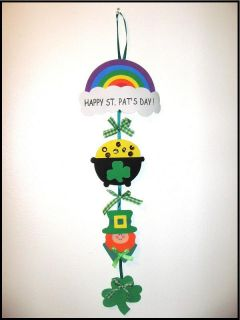 St Patricks Day 22 Door Greeter Craft Kit ABCraft