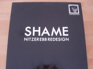NITZER EBB SHAME MIX TWO LTD EDITION 12 TECHNO