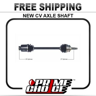 New Complete CV Joint Axle Shaft Assembly Front Left Driver Right