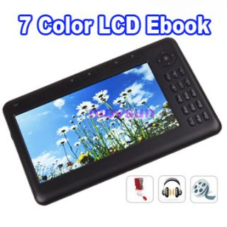 Colorful screen E book Reader ebook digital  MP4 player #CEBOOK2