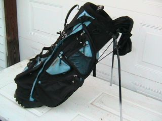 Burton Golf Bag with Stand and Double Padded Strap