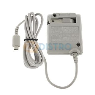 Home Travel Charger AC Power Adapter for Nintendo DS Lite NDSL