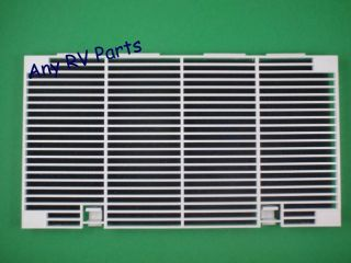 Duo Therm Fan Return Air Grill Polar White 3104928019