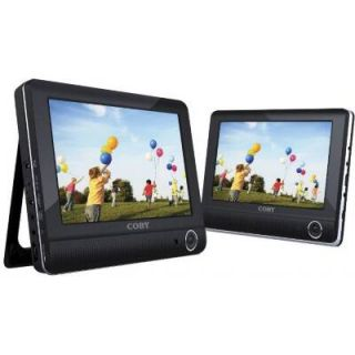 Coby TFDVD9952 9Dual Screen Portable Tablet DVD Player