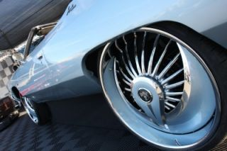 New 24 Dub Skirts Azzmacka S602 Floating Chrome Wheels Rims Floaters