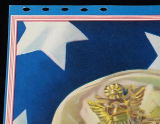 MILITARY CALENDAR WORLD WAR II GENERAL DOUGLAS MACARTHUR AMERICAN