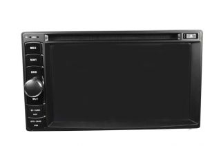 Car DVD Player Stereo iPod  4 Radio USB SD BT Double 2 DIN