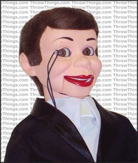 Charlie McCarthy Deluxe Upgrade Ventriloquist Dummy Doll Puppet with