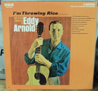 Eddy Arnold IM Throwing Rice LP Mid 60s Country