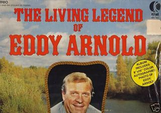 The Living Legend of Eddy Arnold K Tel WC 307 LP Mint