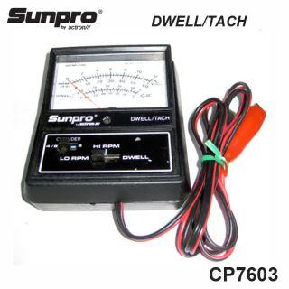 Sunpro CP7603 Dwell Tach Test Meter