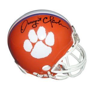 Dwight Clark Signed Clemson Tigers Mini Helmet PBA COA