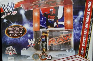 WWE RAW SUPERSTAR ENTRANCE STAGE PLAYSET   WWE TOY ACTION FIGURE