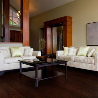 Hand Scraped Colonial Hickory Hardwood Flooring Wood Floor